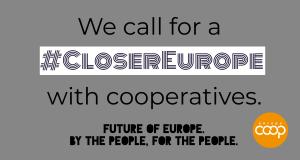 Cooperatives Europe, un appello per il futuro dell'Europa
