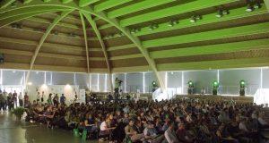 La platea del D4NP al Palasampa della Comunità di San Patrignano