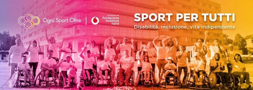 """Ai nastri di partenza il progetto """"sport per Tutti"""" della fondazione Santa Lucia in collaborazione con la fondazione Telecom"""