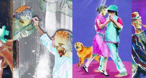 """Un collage di alcune delle immagini che illustrano il libro """"Vite straordinarie 2"""" pubblicato a cura di Superabile Inail"""